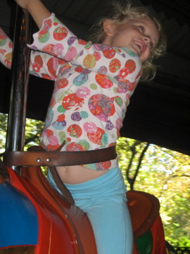 Riding on the carousel - 2010