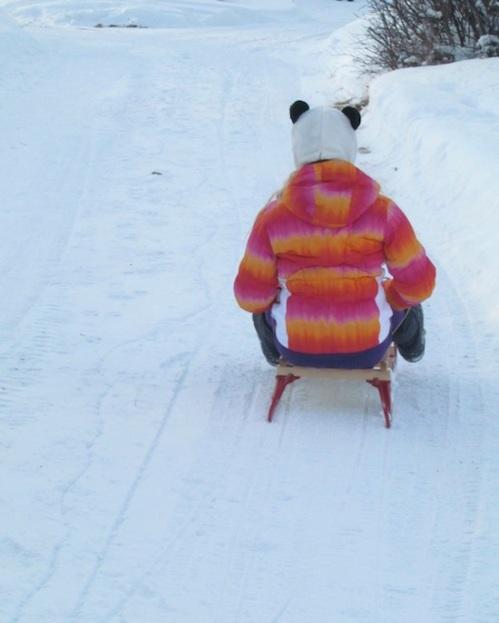 Em sledding