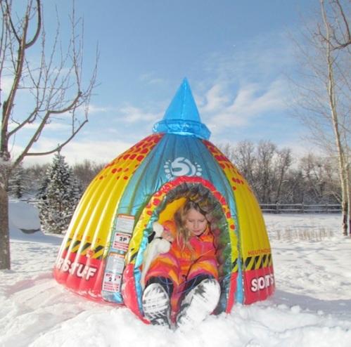 Em's Snow Fort