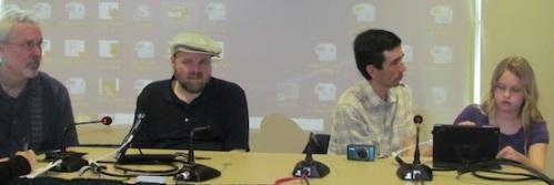 Harvey, Tracy, Pascal & Em @ USF