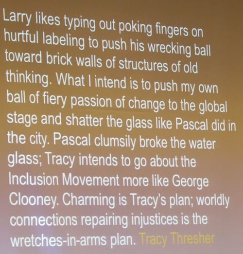 Tracy Writes