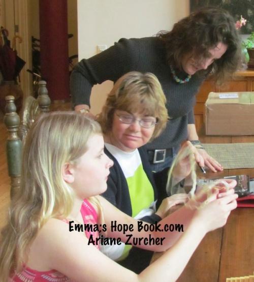 Emma, Barb Rentenbach and Lois Prislovsky