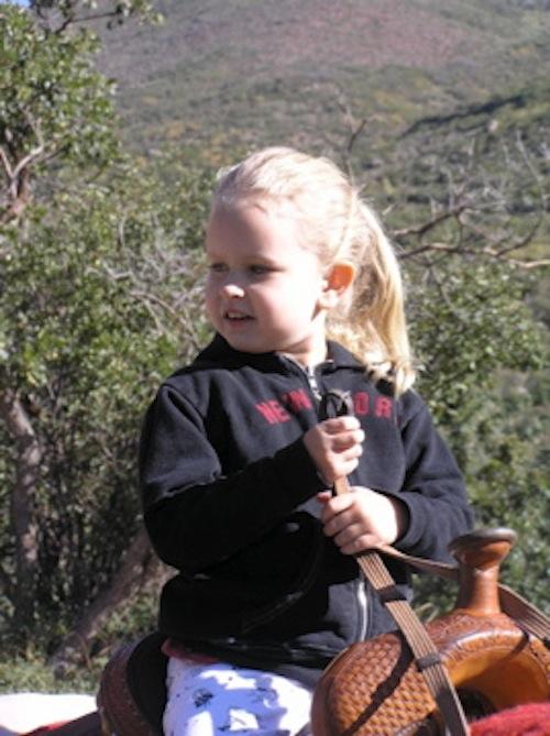 Emma Riding Beau