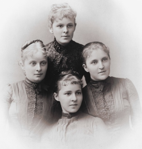 Our Ancestors - Emma, Anina, Antonie and Marie