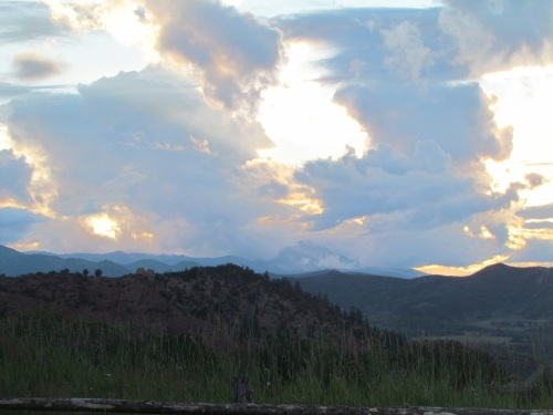 Sunset - The Rocky Mountains