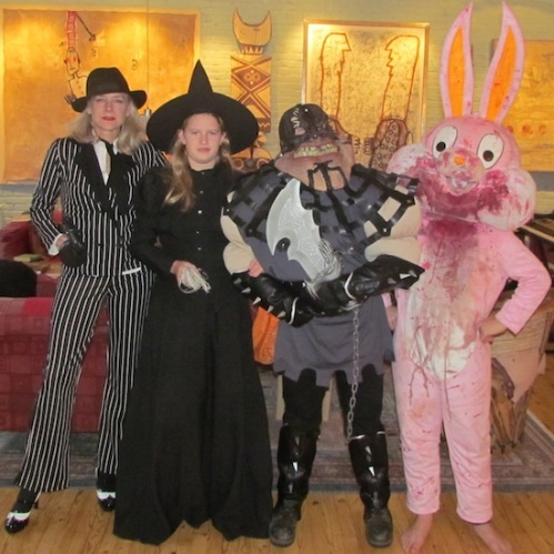 Family Photo - Halloween 2014